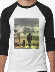 Desert Men's Baseball ¾ T-Shirt
