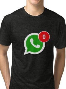 WhatsApp Messages Tri-blend T-Shirt