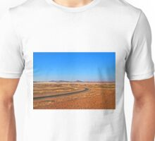 The road to Sossusvlei Unisex T-Shirt