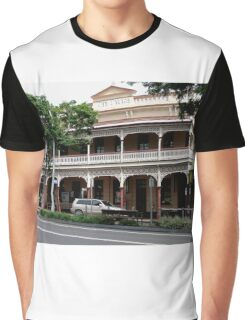 Palace Hotel, Childers, Queensland Graphic T-Shirt