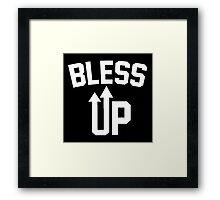 DJ Khaled - Bless Up Framed Print