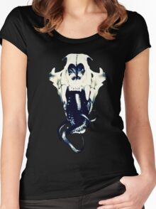 Sermon Of The Void  Women's Fitted Scoop T-Shirt