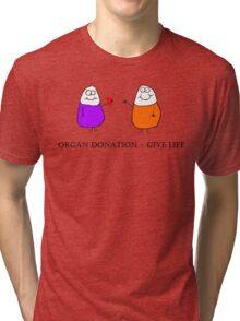 Donate Organs Tri-blend T-Shirt