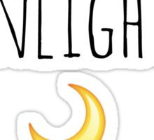 Moonlight Bae - Ariana Grande (Emoji Version) Sticker