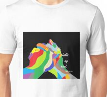 He Holds my Hand Unisex T-Shirt