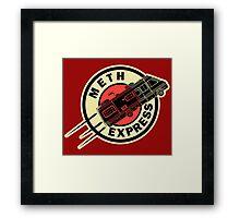 Meth Express Framed Print