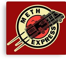 Meth Express Canvas Print