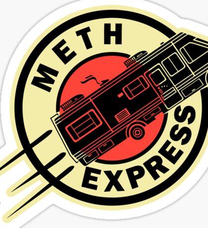 Meth Express Sticker