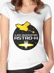 ASTRO-H (NeXT) X-Ray Telescope Program Logo Women's Fitted Scoop T-Shirt