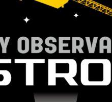ASTRO-H (NeXT) X-Ray Telescope Program Logo Sticker
