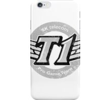 SKT T1 Vintage Logo (best quality ever) iPhone Case/Skin