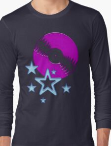 party - sky, star, music, disco, funny Long Sleeve T-Shirt
