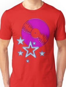party - sky, star, music, disco, funny Unisex T-Shirt