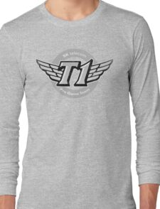 SKT T1 Vintage Logo (best quality ever) Long Sleeve T-Shirt