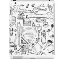Car stuff pattern iPad Case/Skin