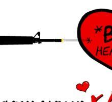 """Gamer Valentine - """"Meant to Be"""" Geek Funny Nerd Headshot Sticker"""