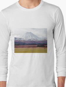 Mt Ngauruhoe, New Zealand Long Sleeve T-Shirt