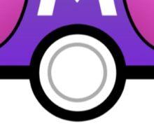 Masterball meme Sticker