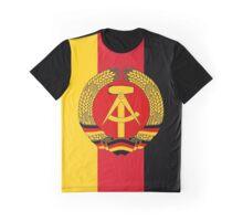 DDR Flag Banner Graphic T-Shirt