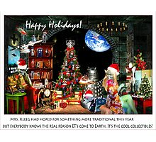 Merry Sci Fi Christmas! Photographic Print