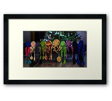 The Last Squid-al Framed Print
