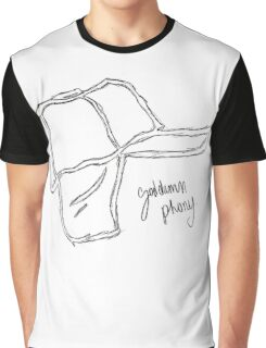 Who Wrote Holden Caulfield? Graphic T-Shirt