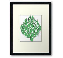 Green Artichoke!  Framed Print