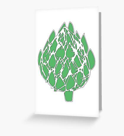 Green Artichoke!  Greeting Card
