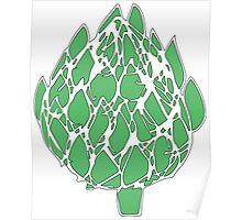 Green Artichoke!  Poster
