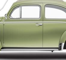 1957 Volkswagen Beetle Sedan - Diamond Green Sticker
