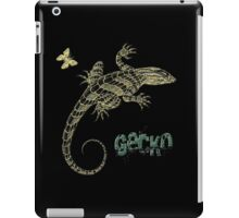 Gecko and butterfly iPad Case/Skin
