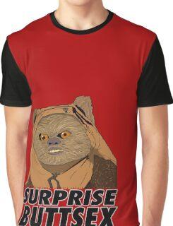 Ewok - Surprise Buttsex Graphic T-Shirt
