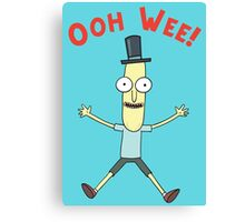 Ooh Wee! Mr. Poopy Butthole Canvas Print