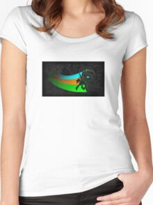Trevor the Minimalist Women's Fitted Scoop T-Shirt