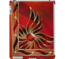 Red As the Flame iPad Case/Skin
