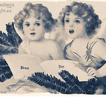 Old Fashioned Christmas Greetings by Chris Armytage™