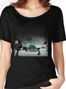 The Legend of Skull Island (A Collaboration with JR Garland) :) Women's Relaxed Fit T-Shirt