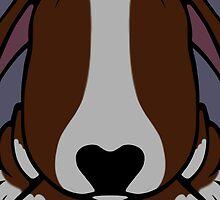 Dobby Ears Bull Terrier Brown  by Sookiesooker