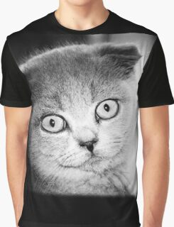 Cute Cat Graphic T-Shirt