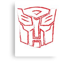 Autobot Paint Canvas Print