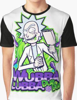 Rick Morty Wubba Lubra Big Bang Quote Graphic T-Shirt
