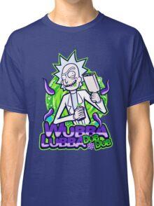 Rick Morty Wubba Lubra Big Bang Quote Classic T-Shirt