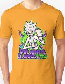Rick Morty Wubba Lubra Big Bang Quote T-Shirt