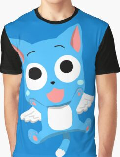 Happy - Fairy Tail Graphic T-Shirt