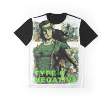 Peter Steele TYPE O NEGATIVE AMR (4) Graphic T-Shirt