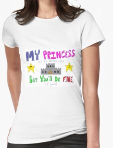 Hastily Made Gamer Valentine - Gamer Geek Princess Funny Nerd Womens Fitted T-Shirt