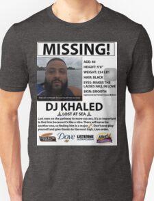DJ Khaled Lost At Sea Snapchat T-Shirt Unisex T-Shirt