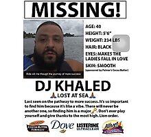 DJ Khaled Lost At Sea Snapchat T-Shirt Photographic Print