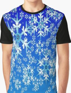 Snow Patterns Graphic T-Shirt