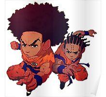 The Boondocks|Dragon Ball Z Poster